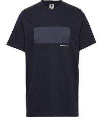 adriel 3234 t-shirts short-sleeved blå nn07