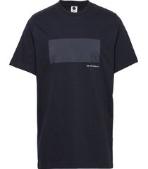 adriel 3234 t-shirts short-sleeved blå nn07