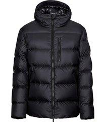 hogan down jacket black