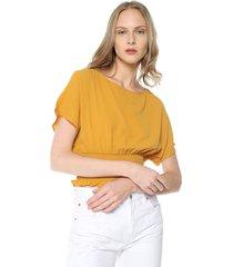 blusa mostaza active