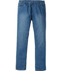 jeans con elastico in vita regular fit straight (blu) - john baner jeanswear
