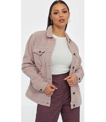 noisy may nmole l/s wide corduroy jacket x jeansjackor