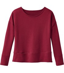 sweatshirt, kersenrood 44/46
