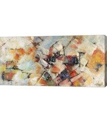 "metaverse quartieri di rio by tebo marzari canvas art, 32"" x 16"""
