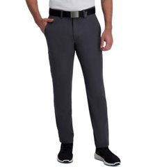 haggar men's active series slim-straight fit stretch dress pants