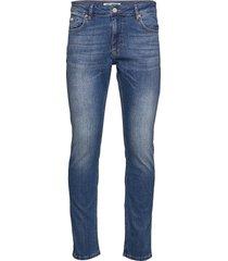 jeff deepless blue slimmade jeans blå just junkies