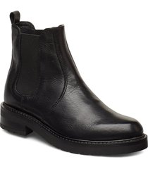 maria two shoes chelsea boots svart pavement