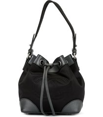 chanel pre-owned '07s drawstring hand bag - black