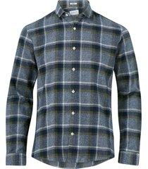 skjorta checked flannel shirt l/s
