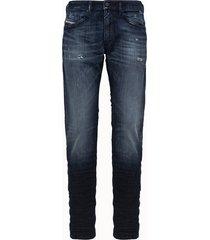 diesel jeans thommer-x in denim used blu