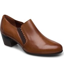woms slip-on shoes heels pumps classic brun tamaris