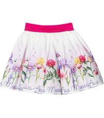 monnalisa patterned skirt