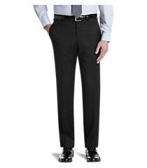 signature collection tailored fit dress pants by jos. a. bank