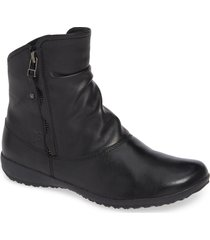 josef seibel naly 24 bootie, size 11-11.5us in black leather at nordstrom