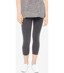motherhood maternity skinny cropped leggings