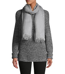 fringe-trim scarf