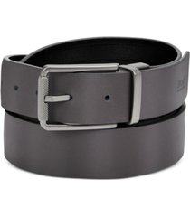 hugo men's tintin reversible leather belt