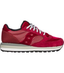 scarpe sneakers donna camoscio jazz o triple