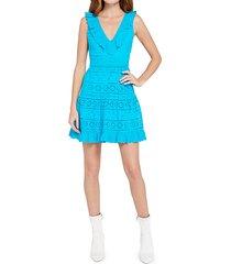 cantara lace overlay dress