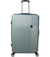 mala de bordo padrão anac em abs - santino - 19 polegadas -  verde claro