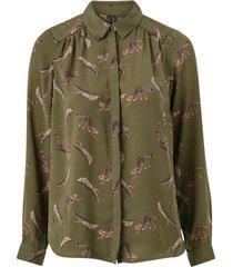 blus vmlizzy animal l/s shirt