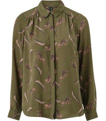 blus vmlizzy animal l/s shirt