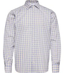 contemporary fit blue signature twill shirt skjorta business blå eton