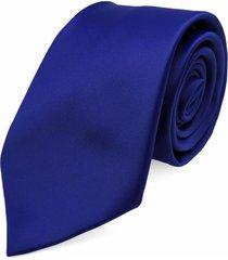 gravata concetto lisa seda azul royal - azul - masculino - dafiti