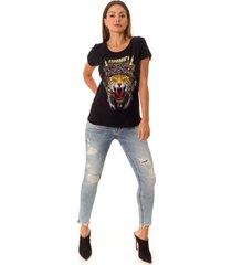 camiseta opera rock t-shirt preta - preto - feminino - algodã£o - dafiti