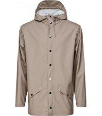 rains regenjas jacket taupe 2021
