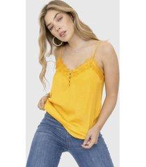blusa altair amarillo racaventura