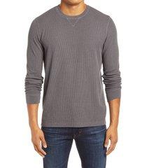 men's 1901 thermal crewneck sweatshirt