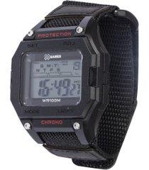 relógio digital x games xgppd137 - masculino - preto