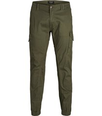 jack & jones plus size broek groen