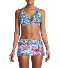 palm party reversible bikini top