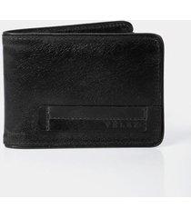 billetera de cuero para hombre sobrepuesto