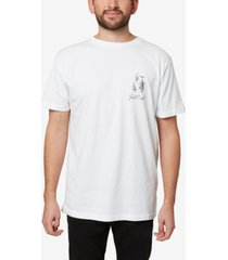 jack o'neill men's micro fish t-shirt