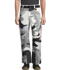 bogner men's tim-t camo ski pants - off white - size 38