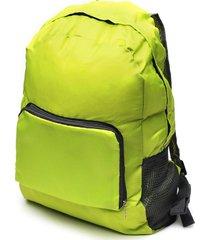 maleta verde color verde, talla uni