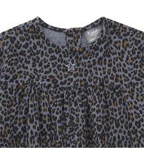 camicetta motivo leopardato