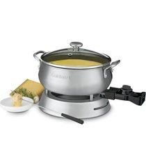 panela para fondue em aço escovado 127v cuisinart