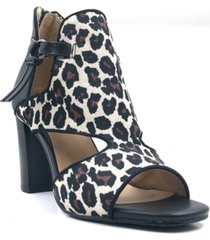 jane and the shoe isabelle cut-out booties women's shoes