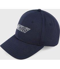 gorra azul navy-blanco oakley