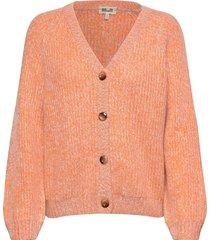 claretta stickad tröja cardigan orange baum und pferdgarten