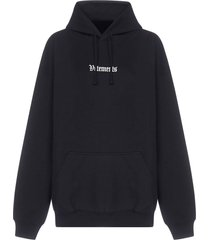 vetements ramstein germany oversized cotton hoodie