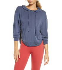 women's free people fp movement back into it cutout hoodie