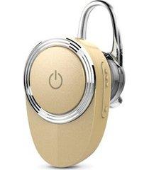 audífonos bluetooth, lu-03mb nuevo deportivos inalámbrico estereo hd de 4,1 audifonos bluetooth manos libres construir-en mic con ear-gancho para sony iphone samsung (oro)