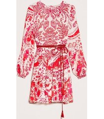 twin-set jurk rood