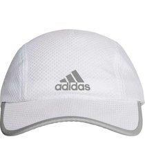 gorra adidas running r96 hombre blanco