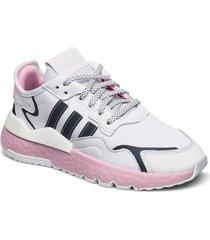 nite jogger w låga sneakers vit adidas originals